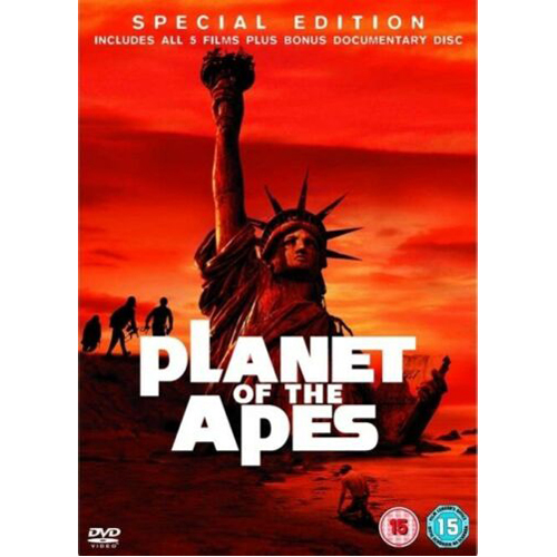 Planet Of The Apes - (Original Films) Movie Collection (5 Films) - DVD