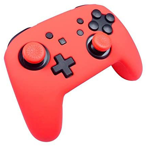 Subsonic Silicon Protective Cover Custom Kit for Pro Controller (Red) - Nintendo Switch