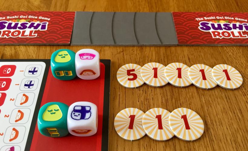 Sushi Roll Elements