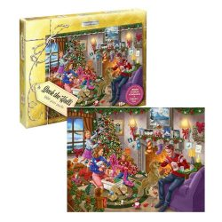 Waddingtons Limited Edition Christmas puzzle (1000 pieces)