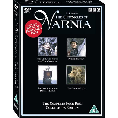 The Chronicles Of Narnia - (4 Film) Collection - DVD