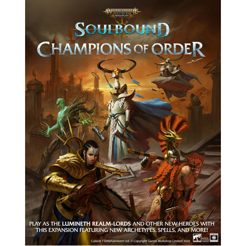 Warhammer:  Age of Sigmar RPG - Soulbound, Champions of Order