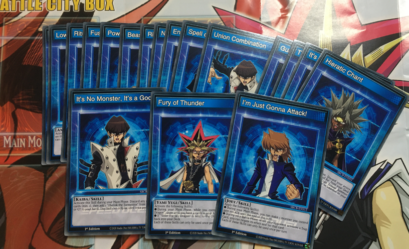 Yu-Gi-Oh! Speed Duel Battle City Box Cards