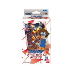 Digimon Card Game: Starter Deck - Gaia Red (ST-1)