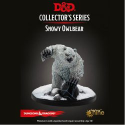 D&D: Icewind Dale - Rime of the Frostmaiden: Snowy Owlbear Miniature