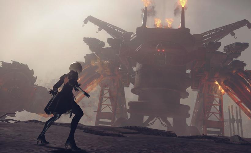 nier automata looming battle