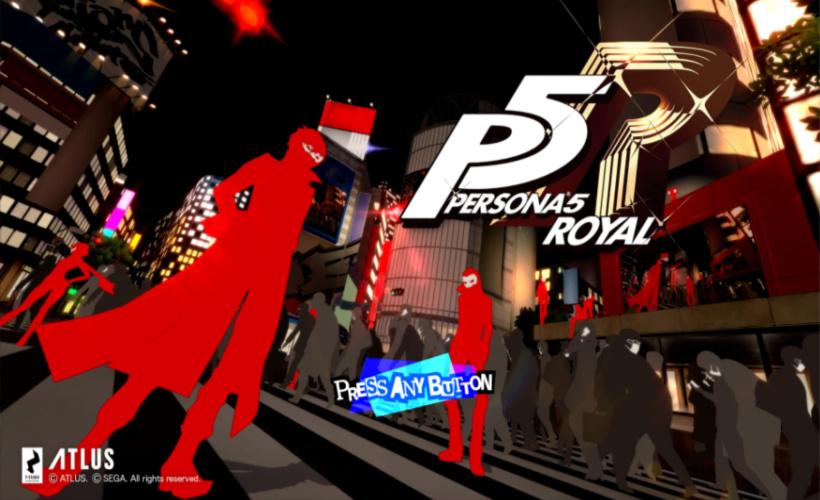 persona 5 royal menu