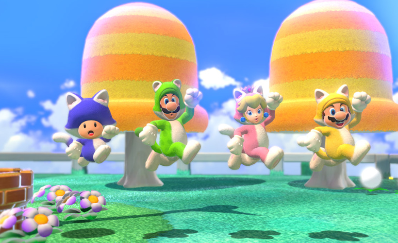 super mario 3d world bowsers fury cat edition