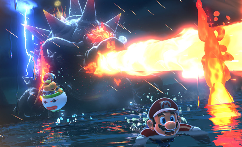 super mario 3d world bowsers fury escaping bowser