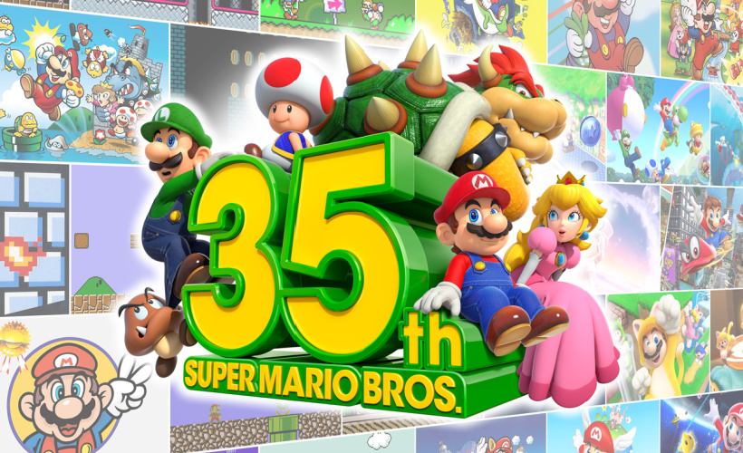 super mario bros 35th