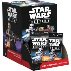 *A Grade* Star Wars Destiny: Spirit of Rebellion Booster Box