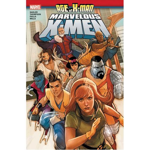 Age of X-Man: The Marvelous X-Men (Paperback)