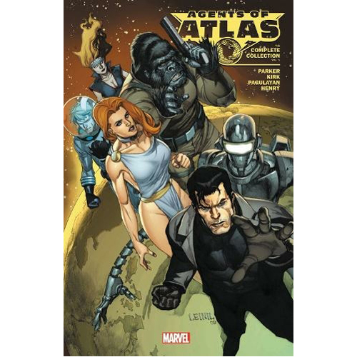 Agents of Atlas: The Complete Collection Vol. 1 (Paperback)