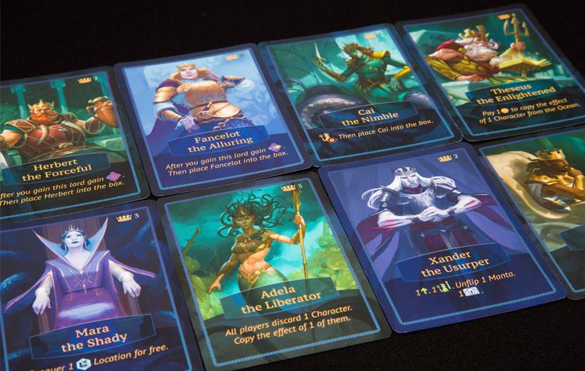 Aquatica Character Cards