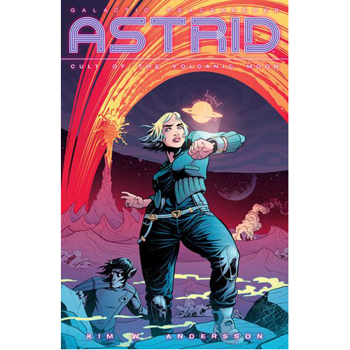 Astrid: Cult of the Volcanic Moon (Paperback)