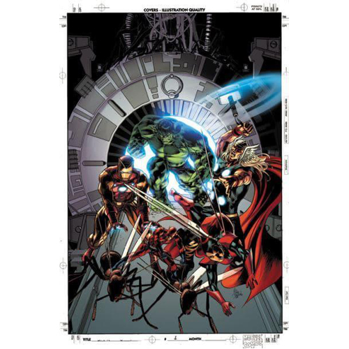 Avengers By Jonathan Hickman: The Complete Collection Vol. 4 (Paperback)