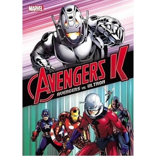 Avengers K Book 1: Avengers vs. Ultron (Paperback)