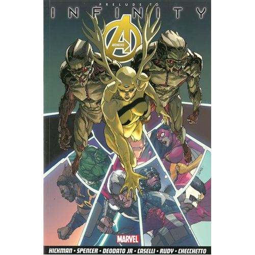 Avengers Vol.3: Infinity Prelude (Paperback)
