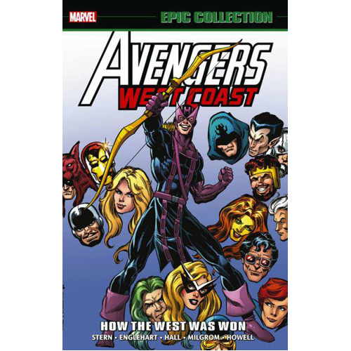 Avengers West Coast Epic Collection: How The West Was Won (Paperback)