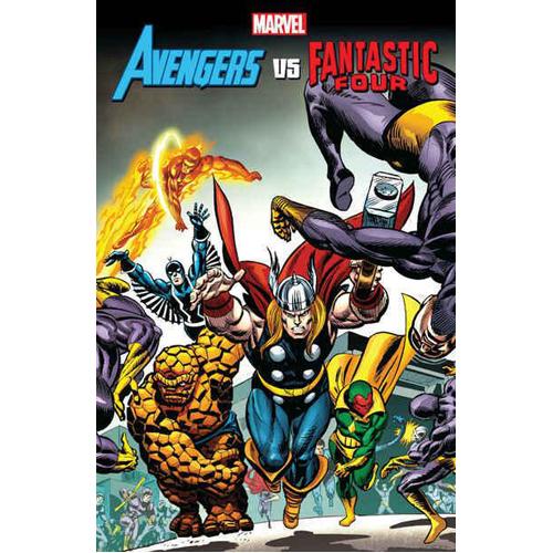 Avengers vs. Fantastic Four (Paperback)