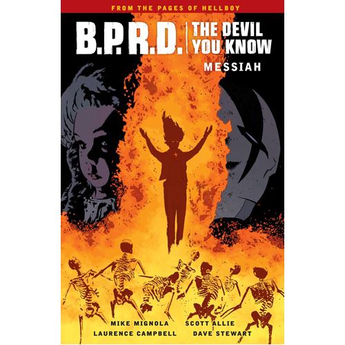 B.P.R.D.: The Devil You Know Volume 1 - Messiah (Paperback)