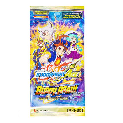 BFE Future Card Buddyfight Ace Ultimate Booster Vol. 5 Buddy Again Vol. 2 Super Buddy War EX Booster Pack