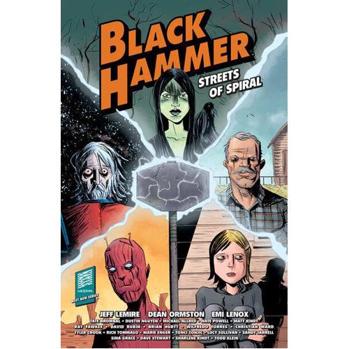 Black Hammer: Streets of Spiral (Paperback)