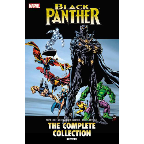 Black Panther by Christopher Priest: The Complete Collection Volume 2 (Paperback)