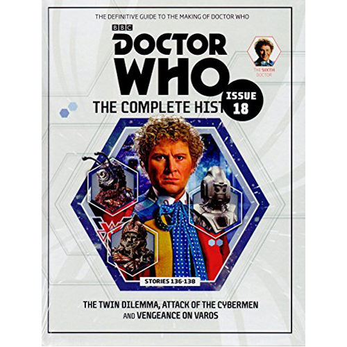 Doctor Who: The Complete History Issue 18 (Hardback)