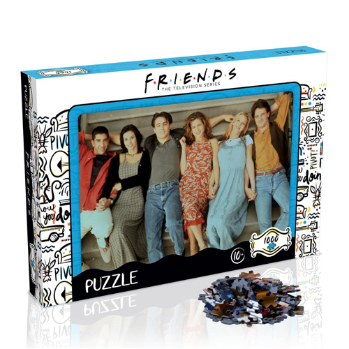 Friends Stairs Puzzle (1000 pieces)