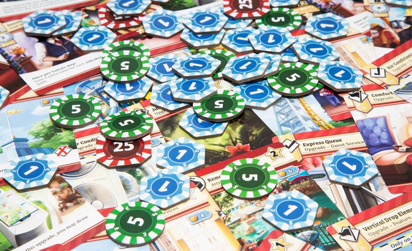 Funfair tokens