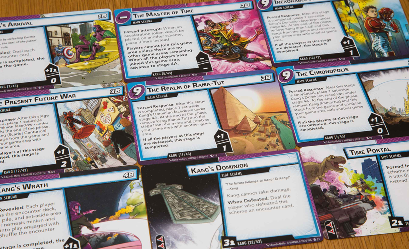 Marvel champions the once and future kang cards