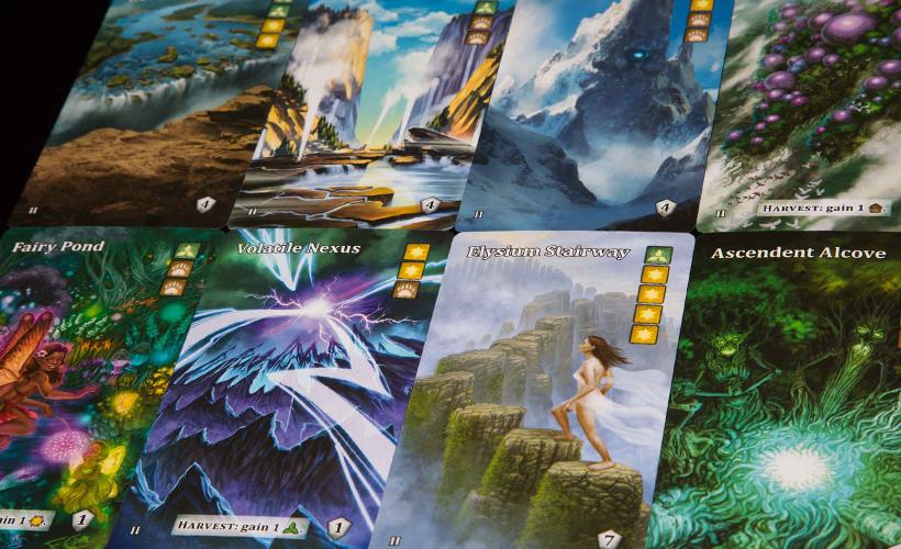 Mystic Vale Harmony Cards
