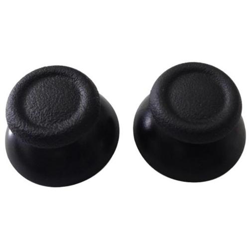 PS4 Original Thumb Stick Replacements x2 (Spare Parts) - Black - PS4