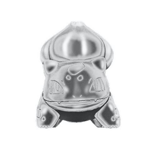 Pokemon: Select 3 Inch Battle Figures - Silver Bulbasaur