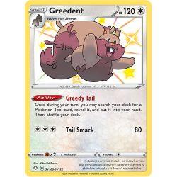 Pokemon TCG: Single Card - Shining Fates: Greedunt (Pack to Sleeve)