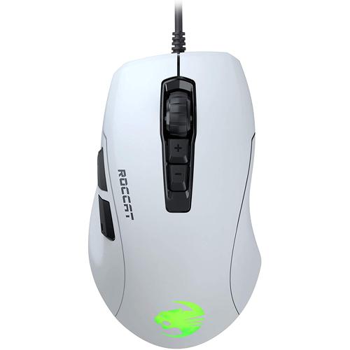 Roccat Kone Pure Ultra - White Light Ergonomic Gaming Mouse - PC