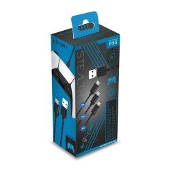 STEALTH SP-C30V Superfast Play & Charge Cables Triple Pack - PS5
