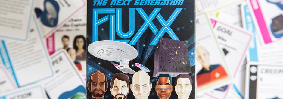 Star Trek The Next Generation Fluxx Box Image