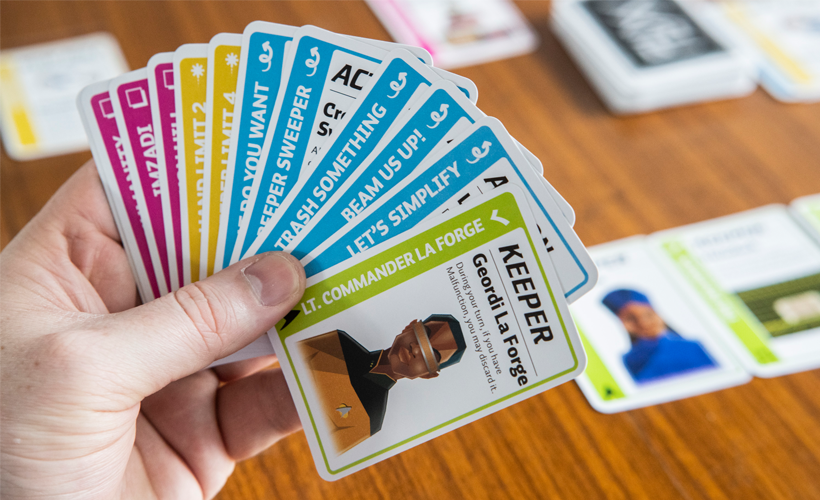 Star Trek The Next Generation Fluxx Cards