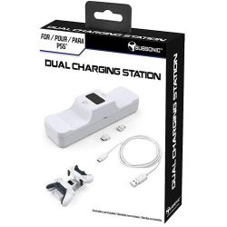 Subsonic PS5 DualSense Charging Station (White) - PS5