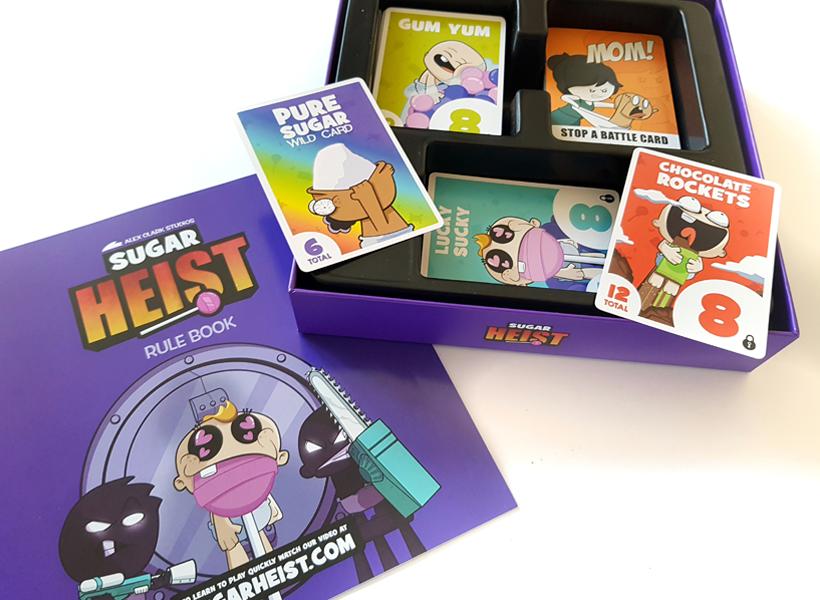 Sugar Heist Kickstarter Box