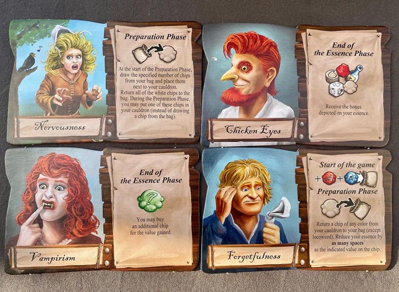 The quacks of quedlinburg alchemists cards