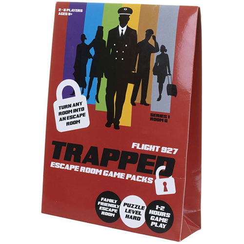 Trapped: Escape Room Game Pack - Flight 937