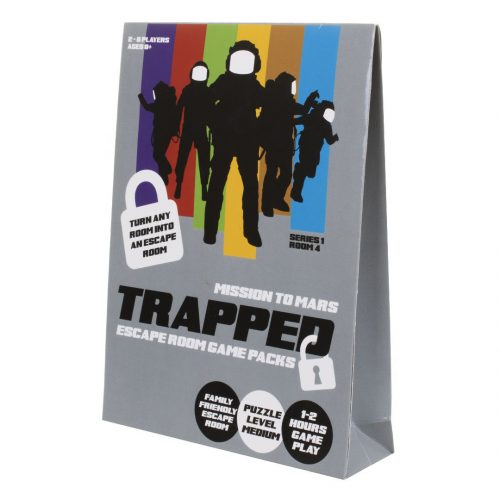 Trapped: Escape Room Game Pack - Mission to Mars