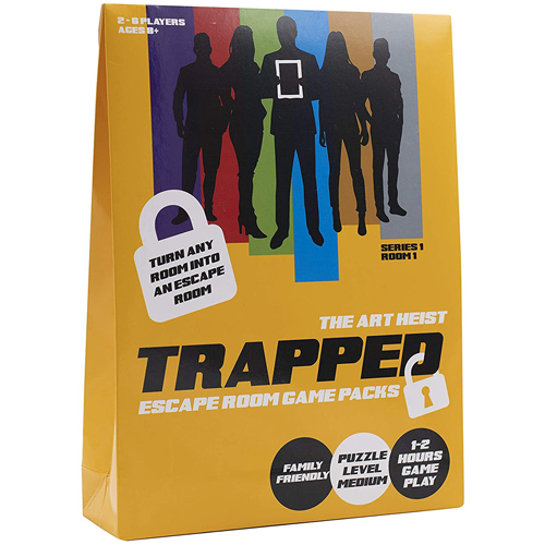 Trapped: Escape Room Game Pack - The Art Heist