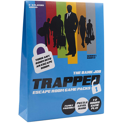 Trapped: Escape Room Game Pack - The Bank Job