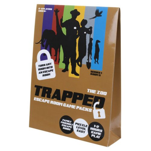 Trapped: Escape Room Game Pack - The Zoo