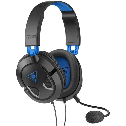 Turtle Beach Wired Ear Force Recon 50P Headset - Black/Blue - PS4