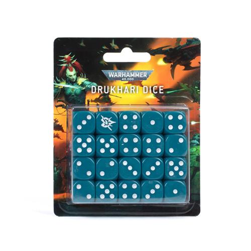 Warhammer 40K: Drukhari Dice Set